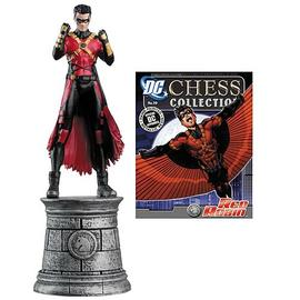 Batman - Red Robin White Knight Chess Piece with Magazine