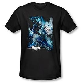 Batman - Dark Knight Rises Showdown Black T-Shirt
