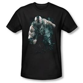 Batman - Dark Knight Rises Bane Rain Black T-Shirt