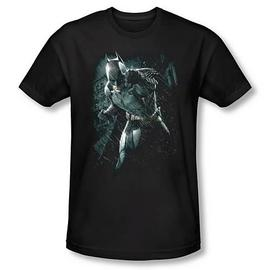 Batman - Dark Knight Rises Rain Black T-Shirt