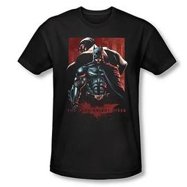 Batman - Dark Knight Rises and Bane Black T-Shirt