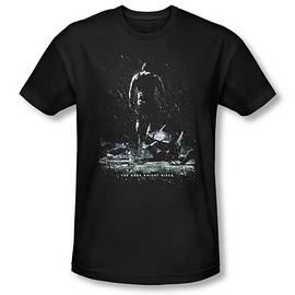 Batman - Dark Knight Rises Bane Poster Black T-Shirt