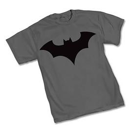 Batman - New 52 Symbol Gray T-Shirt