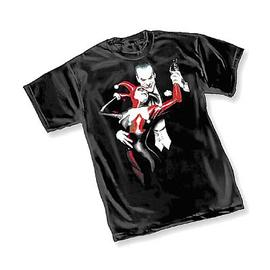 Batman - Alex Ross Joker and Harley Quinn T-Shirt