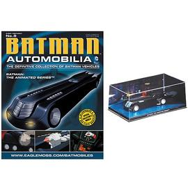 Batman - Animated Series Batmobile and Collector Magazine