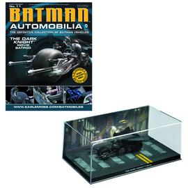 Batman - Dark Knight Batpod Vehicle with Collector Magazine