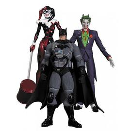 Batman - Hush Joker, Harley Quinn & Stealth Figure Set