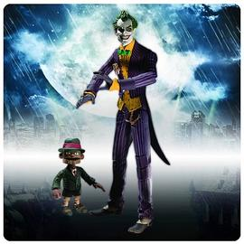 Batman - Arkham Asylum Joker with Scarface Action Figure