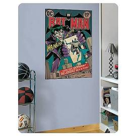Batman - Joker Issue Comic Book Cover Peel and Stick Decal