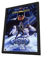 Batman & Mr. Freeze: SubZero - 11 x 17 Movie Poster - Style A - in Deluxe Wood Frame