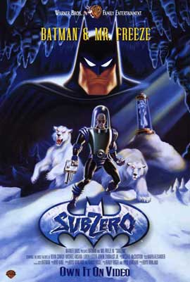 Batman & Mr. Freeze: SubZero - 11 x 17 Movie Poster - Style A
