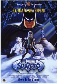Batman & Mr. Freeze: SubZero - 43 x 62 Movie Poster - Bus Shelter Style A