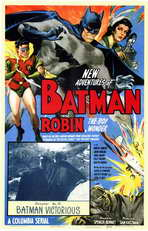 Batman and Robin - 11 x 17 Movie Poster - Style A