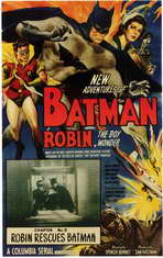Batman and Robin - 11 x 17 Movie Poster - Style D
