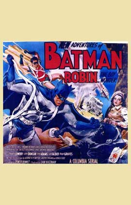 Batman and Robin - 11 x 17 Movie Poster - Style H