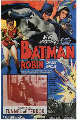 Batman and Robin - 11 x 17 Movie Poster - Style C