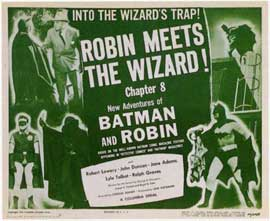 Batman and Robin - 11 x 14 Movie Poster - Style D