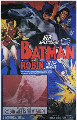 Batman and Robin - 11 x 17 Movie Poster - Style E