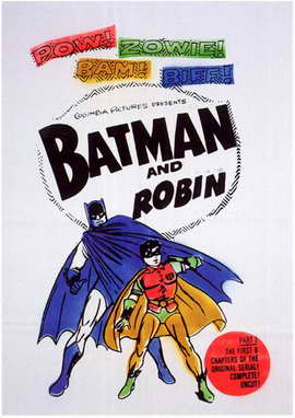 Batman and Robin - 11 x 17 Movie Poster - Style F