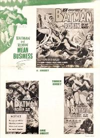 Batman and Robin - 11 x 17 Movie Poster - Style J