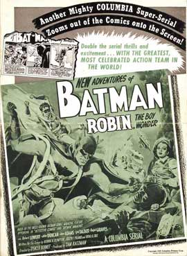 Batman and Robin - 11 x 17 Movie Poster - Style K