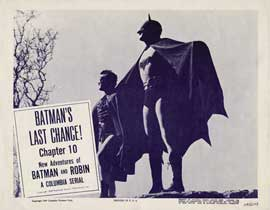 Batman and Robin - 11 x 14 Movie Poster - Style H