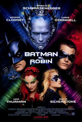 Batman and Robin - 27 x 40 Movie Poster - Style A