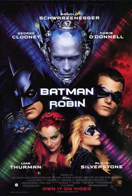 Batman and Robin - 27 x 40 Movie Poster - Style C