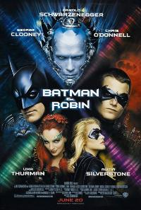 Batman and Robin - 43 x 62 Movie Poster - Bus Shelter Style A