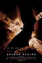 Batman Begins - 27 x 40 Movie Poster - Style F