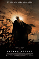 Batman Begins - 11 x 17 Movie Poster - UK Style B