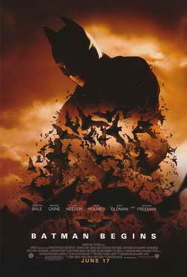 Batman Begins - 11 x 17 Movie Poster - Style D