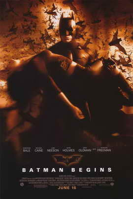 Batman Begins - 11 x 17 Movie Poster - Style F