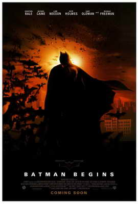 Batman Begins - 27 x 40 Movie Poster