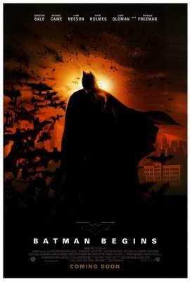 Batman Begins - 27 x 40 Movie Poster - Style B