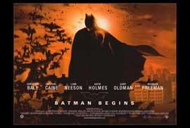 Batman Begins - 27 x 40 Movie Poster - Style C