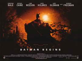 Batman Begins - 11 x 17 Movie Poster - Style P