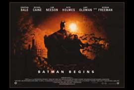 Batman Begins - 27 x 40 Movie Poster - Style D