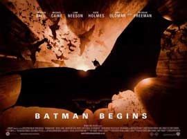 Batman Begins - 11 x 17 Movie Poster - Style Q