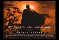 Batman Begins - 43 x 62 Movie Poster - Bus Shelter Style A