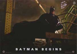 Batman Begins - 11 x 14 Poster German Style A
