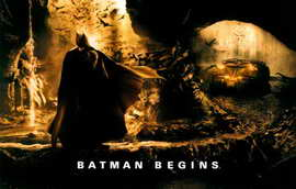 Batman Begins - 11 x 17 Movie Poster - Style R