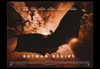 Batman Begins - 43 x 62 Movie Poster - Bus Shelter Style B