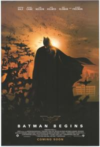 Batman Begins - 43 x 62 Movie Poster - Bus Shelter Style C