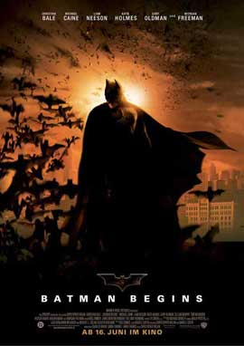Batman Begins - 11 x 17 Movie Poster - German Style A