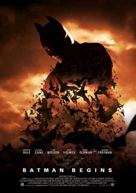 Batman Begins - 27 x 40 Movie Poster - Norwegian Style A