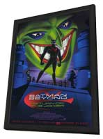 Batman Beyond:  Return of the Joker - 11 x 17 Movie Poster - Style A - in Deluxe Wood Frame