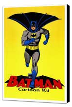 Batman DC Comics - 27 x 40 Movie Poster - Style A - Museum Wrapped Canvas