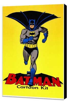 Batman DC Comics - 11 x 17 Movie Poster - Style A - Museum Wrapped Canvas