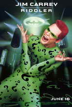 Batman Forever - 27 x 40 Movie Poster - Style E